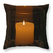 Soft Glow Throw Pillow