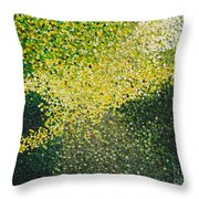 Soft Green Light  Throw Pillow