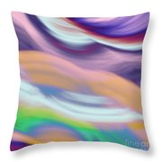 Soft Hues Throw Pillow
