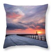 Soft Morning Light Throw Pillow