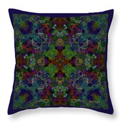 Soft Patterned Dreams Throw Pillow