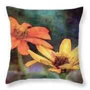 Soft Petals 3058 Idp_2 Throw Pillow