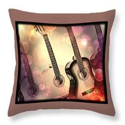 Soft Sounds Throw Pillow