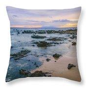 Soft Sunset Throw Pillow