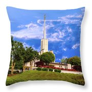 Softly Beckons Throw Pillow