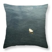 Softly Floating Plume Throw Pillow