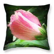 Softly Glowing Throw Pillow