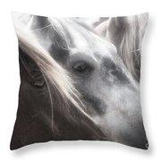 Softly Settling Throw Pillow