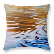 Softly She Sings Throw Pillow by Brian  Commerford