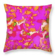 Softly Smouldering Throw Pillow