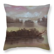 Softly Spoken Throw Pillow