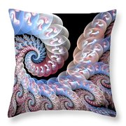Softly Whispering Throw Pillow