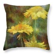 Softly Yellow 3052 Idp_2 Throw Pillow