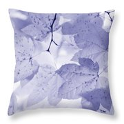 Softness Of Lavender Leaves Throw Pillow