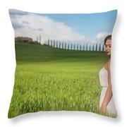 Sogno Toscana Throw Pillow
