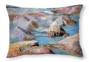 Sol De Manana In Bolivia Throw Pillow