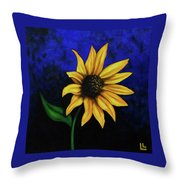 Sol Flower Throw Pillow