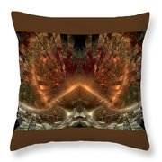 Sol Invictus Throw Pillow