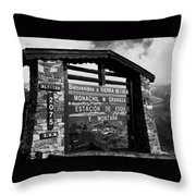 Sol Y Nieve ... Throw Pillow