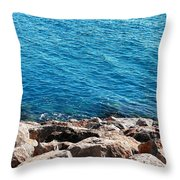 Solace In Abu Dhabi Throw Pillow