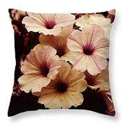 Solanaceae Throw Pillow