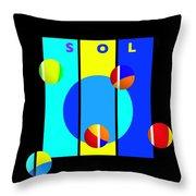 Solar Activity Throw Pillow