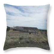 Solar Array Throw Pillow