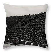 Solar City V2 Throw Pillow