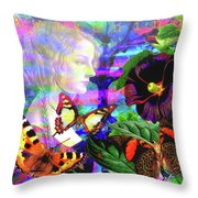 Solar Daydreamer Throw Pillow by Joseph Mosley