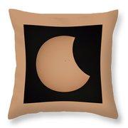 Solar Eclipse 1333 Throw Pillow