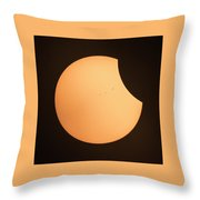 Solar Eclipse 2017 1320 Throw Pillow