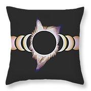 Solar Eclipse, 25 Throw Pillow