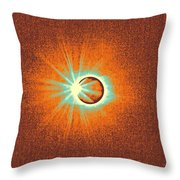 Solar Eclipse, 33 Throw Pillow