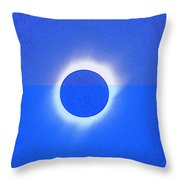 Solar Eclipse Of 2017 Poster 4 Throw Pillow