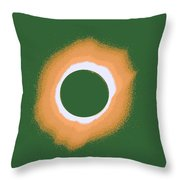 Solar Eclipse Poster 4 B Throw Pillow