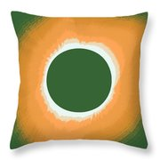 Solar Eclipse Poster 5 Throw Pillow