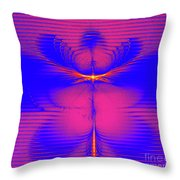 Solar Embrace Throw Pillow