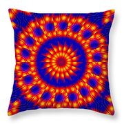 Solar Energy Throw Pillow