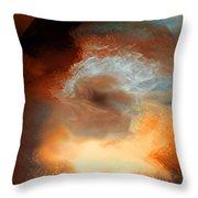 Solar Eruption Throw Pillow
