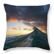 Solar Eruption. Throw Pillow