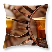 Solar Evolution Throw Pillow
