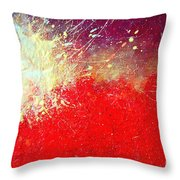 Solar Explosion Throw Pillow