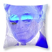 Solar Flare In My Eyes Throw Pillow