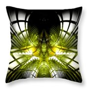Solar Greenhouse Throw Pillow