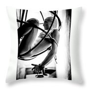 Solar Jail Throw Pillow