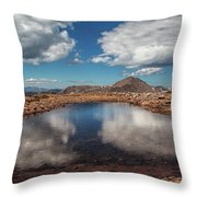 Solar Landscape Throw Pillow