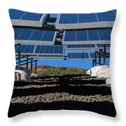 Solar Panels In Connecticut  Throw Pillow