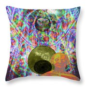 Solar Plexus Spirit Throw Pillow