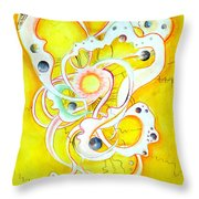 Solar System And Its Energy Throw Pillow