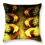 Solar Weave Throw Pillow